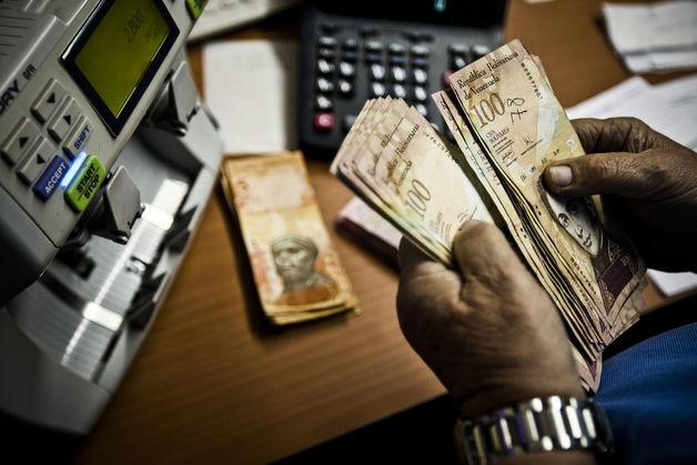Rickshaw Driver Beats Caracas Currency