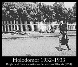 People dead from starvation during the Holodomor, Ukrainian famine/genocide dead from starvation on the streets of Kharkiv 1933