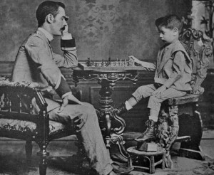 Capablanca and father