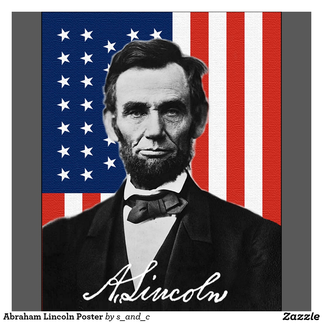 Amazon.com: Abraham Lincoln Quote Inspirational Print ... |Abraham Lincoln Poster Lax