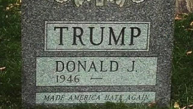 Donald-Trump-Grave-Stone-Erected-in-New-York-City