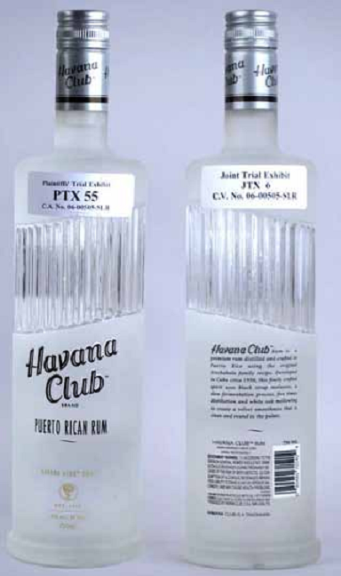 Havana Club bottle