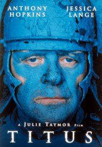 TITUS, Anthony Hopkins, 1999, poster art