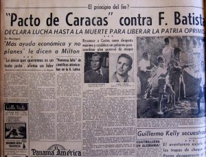 22-07-1958 Pacto de Cracas Contra F. Batista