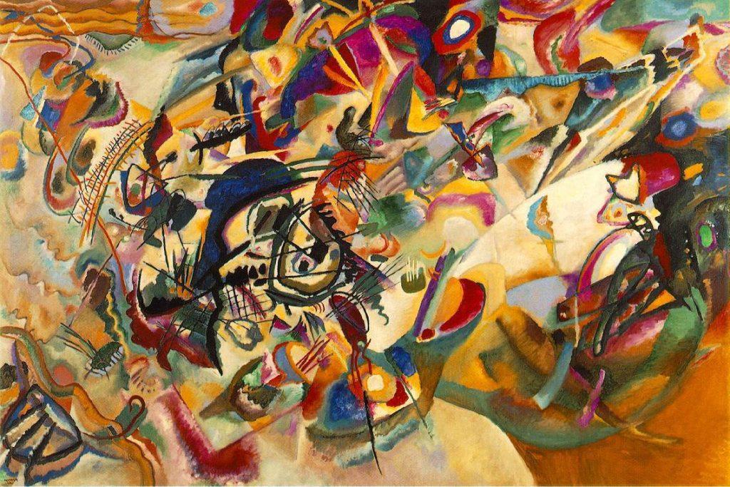 Wassily KandinskyComposition VII (1913)