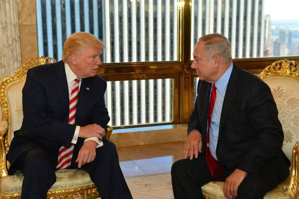 Isreal Netanyahu Trump