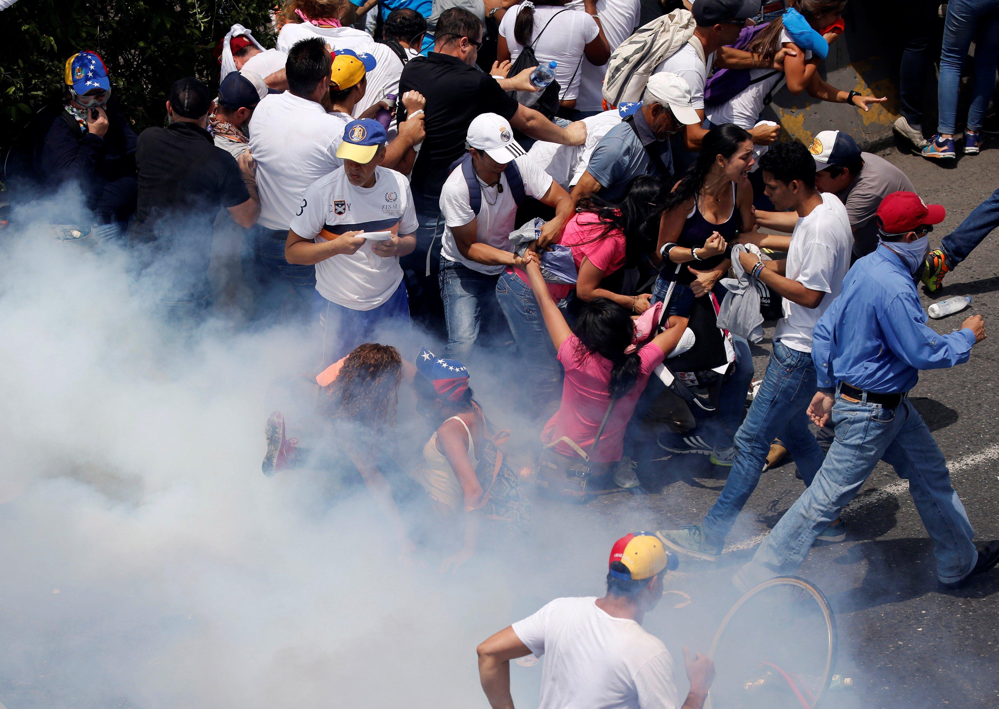 Resultado de imagen para represion en venezuela
