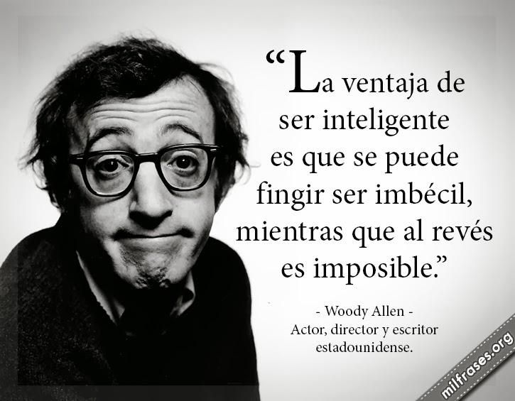 Frases Memorables De Woody Allen América 21